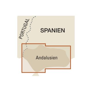 Andalusien 1:350.000