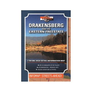 Drakensberg and the Eastern Freestate 1:300.000