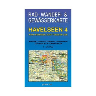 Havelseen 4 (Wannsee, Tegeler See)  1:35.000