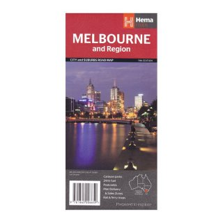 Melbourne and Region 1:115.000