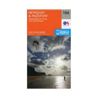 No. 106 - Newquay & Padstow 1:25.000