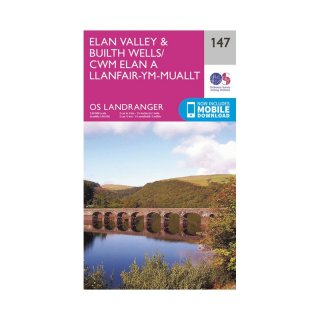 No. 147 - Elan Valley & Builth Wells 1:50.000