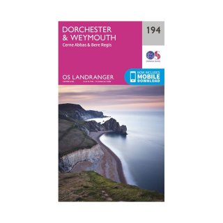 No. 194 - Dorchester & Weymouth 1:50.000