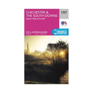 No. 197 - Chichester & the South Downs 1:50.000
