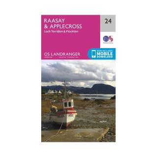 No.  24 - Raasay & Applecross 1:50.000