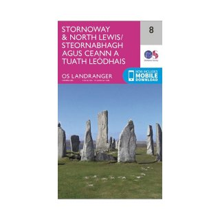 No.   8 - Stornoway & North Lewis 1:50.000