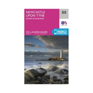 No.  88 - Newcastle upon Tyne  1:50.000