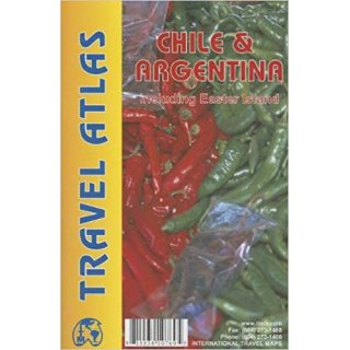 Travel Atlas Chile & Argentina (& Osterinsel & Feuerland)