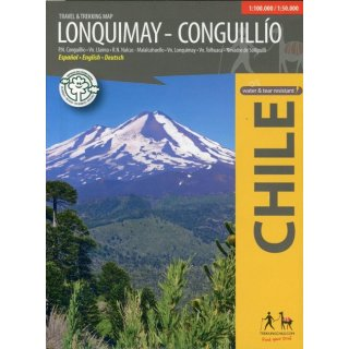 Lonquimay - Conguillío 1:100.000