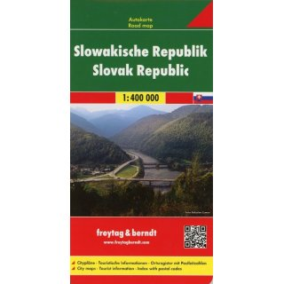Slowakische Republik 1:400 000