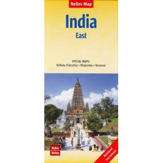 India East (Ostindien) 1:1.500.000