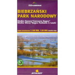 Biebrza-Nationalpark1:100.000 / 1:50.000