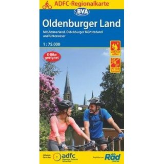 Oldenburger Land 1:75000