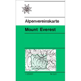 Mount Everest 1:25.000