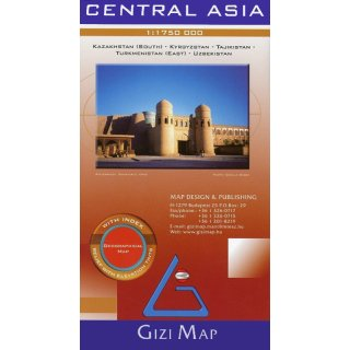 Central Asia 1:1.750.000