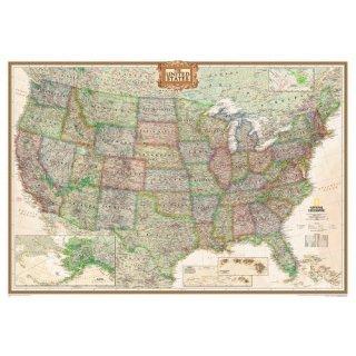 USA Executive Map 1:4.560.000