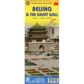 Beijing & The Great Wall 1:23.000/280.000