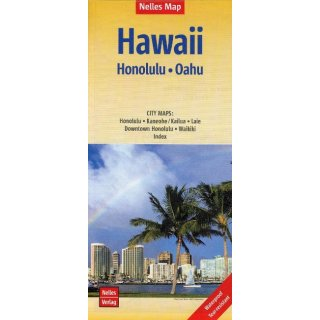 Hawaii (Honolulu - Oahui) 1:150.000