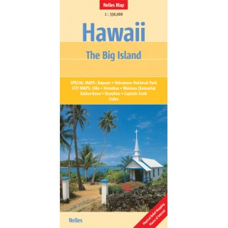 Hawaii - The Big Island 1:330.000