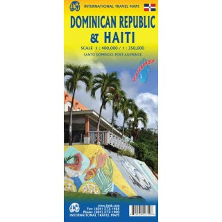 Dominican Republic & Haiti 1:400.000/1:350.000