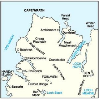 No.   9 - Cape Wrath, Durness & Scourie 1:50.000