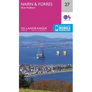 No.  27 - Nairn & Forres, River Findhorn 1:50.000