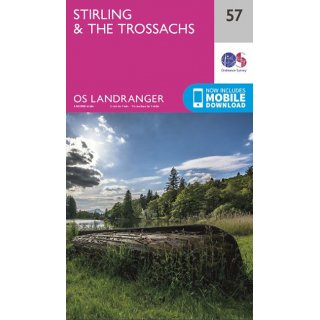 No.  57 - Stirling & The Trossachs 1:50.000