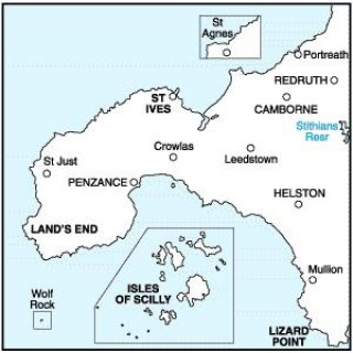 No. 203 - Lands End & Isles of Scilly 1:50.000