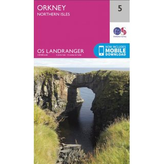 No.   5 - Orkney - Northern Isles 1:50.000