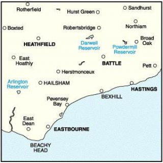 No. 199 - Eastbourne & Hastings 1:50.000