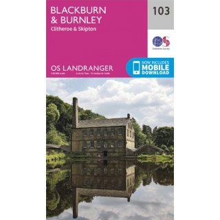 No. 103 - Blackburn & Burnley 1:50.000