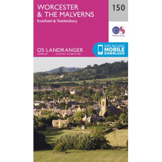 No. 150 - Worcester & The Malverns 1:50.000
