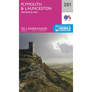 No. 201 - Plymouth & Launeston 1:50.000