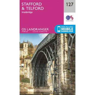 No. 127 - Stafford & Telford, Ironbridge 1:50.000