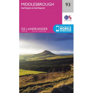 No.  93 - Middlesbrough 1:50.000