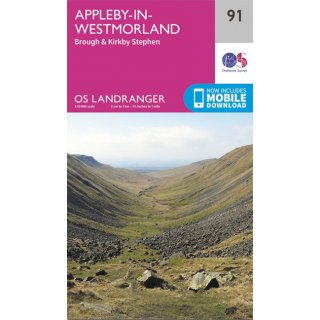 No.  91 - Appleby-in-Westmorland 1:50.000