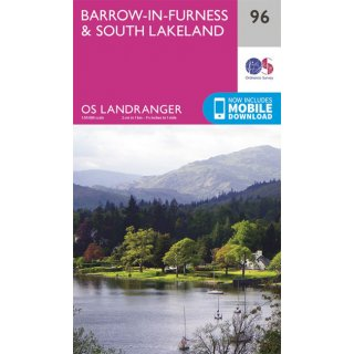 No.  96 - Barrow-in-Furness & South Lakeland 1:50.000