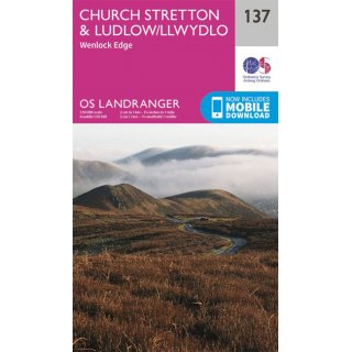 No. 137 - Church Stretton & Ludlow 1:50.000