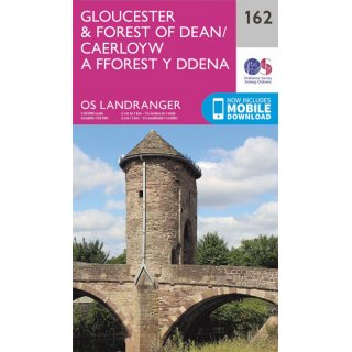 No. 162 - Gloucester & Forest of Dean 1:50.000