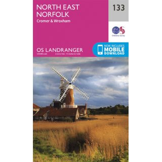 No. 133 - North East Norfolk 1:50.000