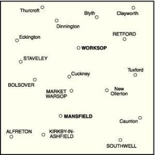 No. 120 - Mansfield & Worksop, Sherwood Forest 1:50.000