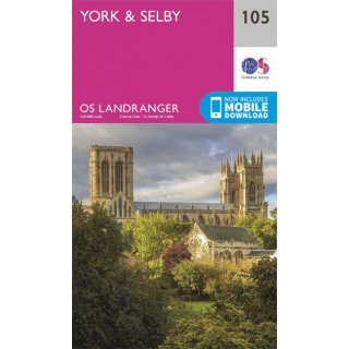 No. 105 - York & Selby 1:50.000