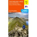 No. OL 5 - The English Lakes - North-eastern area 1:25.000