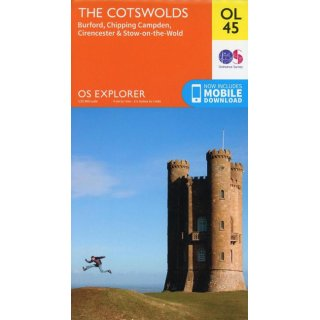 No. OL45 - The Cotswolds 1:25.000