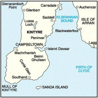No.  68 - South Kintyre & Campbeltown 1:50.000