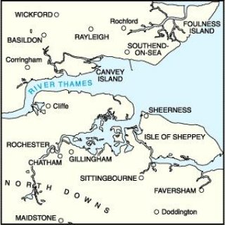 No. 178 - Thames Estuary 1:50.000
