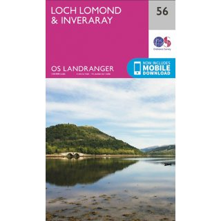 No.  56 - Loch Lomond & Inveraray 1:50.000