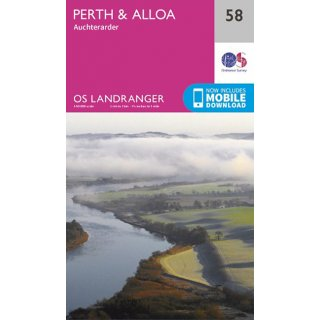 No.  58 - Perth & Alloa, Auchterarder  1:50.000