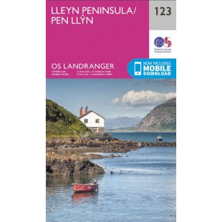 No. 123 - Lleyn Peninsula   1:50.000