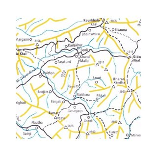 Indian Himalaya Maps - Sheet 7 - 1:200.000